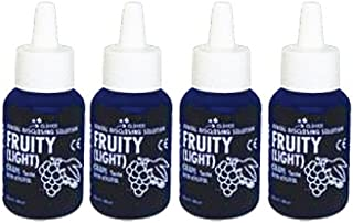 Disclosing Plaque Solution for Kids and Adults, Grape Flavor 5ml Pack of 4