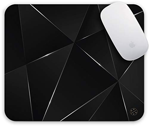 Oriday Productivity Mouse Pad, Gaming Mouse Pad Custom, Inspirational and Motivational Design for Women (Black Chic)