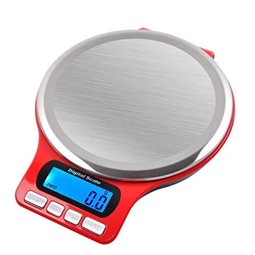rongweiwang balanza Digital de Cocina Báscula multifunción de Alta precisión Escala del alimento LCD Hornear Cocinar Gadget