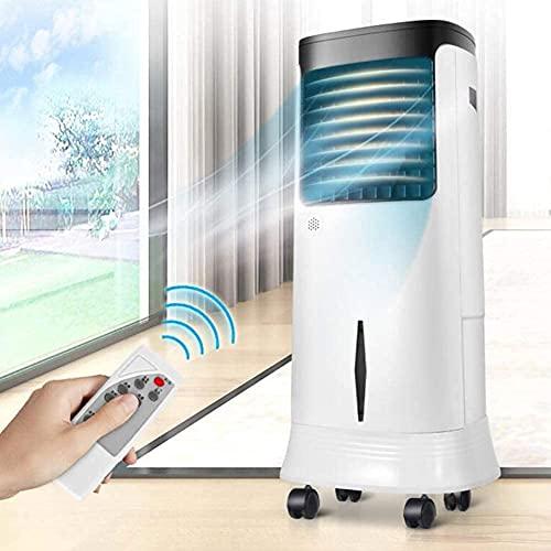 Condizionatore portatile portatile senza tubo di scarico, refrigeratore d aria evaporativo con purificatore di ventola di raffreddamento.