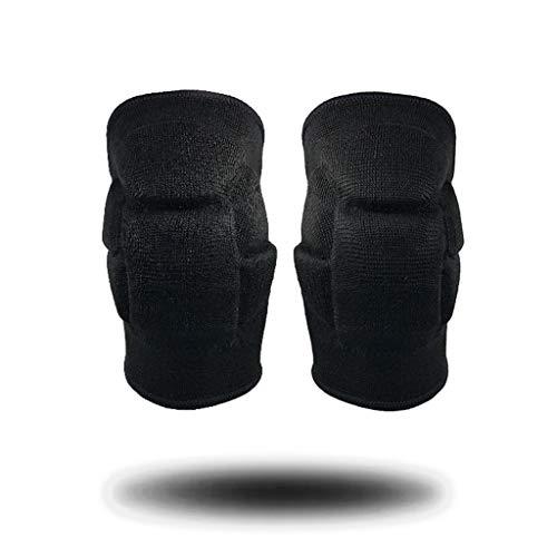 TcooLPE kniebeschermers dikke spons anti botsing kniebeschermers, zeer geschikt voor schaatsen volleybal beschermende uitrusting, paal dans voetbal basketbal