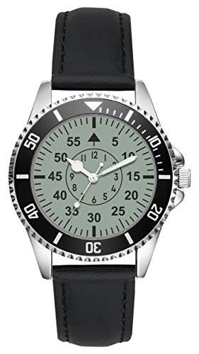 KIESENBERG - Fliegeruhr Militär Piloten Geschenke Fan Uhr L-20670