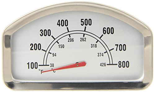 Music City Metals 00013 Heat Indicator Replacement for Select Gas Grill Models by Brinkmann, Sonoma and Others