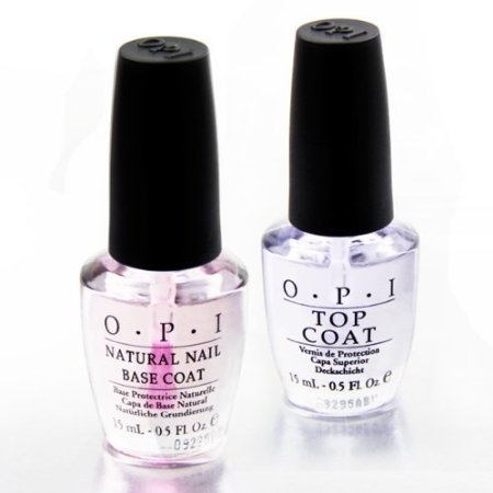 OPi Nagellack - Nautral Top Coat u.Base Coat Duo 2 x 15ml