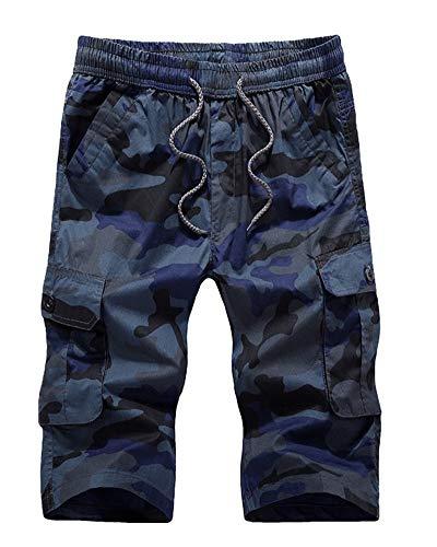 Emmala heren Camouflage bermuda shorts sport stijlvolle broek shorts korte vrijetijdsbroek unicaat cargobroek korte broek jongens mannen