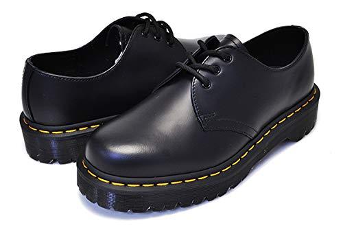 [ドクターマーチン] 21084001 ベックス 3ホール シューズ レディース 1461 BEX 3EYE SHOE BLACK 厚底 ソール ブーツ ウィメンズ 25.0(UK6/US7) [並行輸入品]