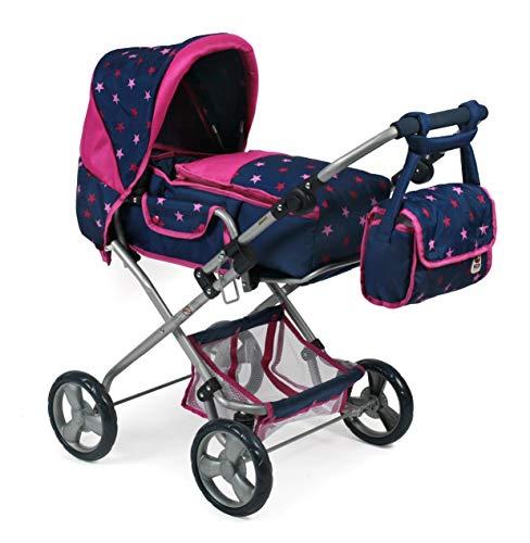 Bayer Chic 2000 586T72 Kombi-Puppenwagen Bambina, pink