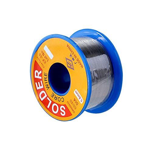 gotyou 0.8mm Filo per Saldatura Senza Piombo,Filo per Saldatura con Flussante,per Lavori di Saldatura Elettronica,Flussanti per Saldatura(100g)