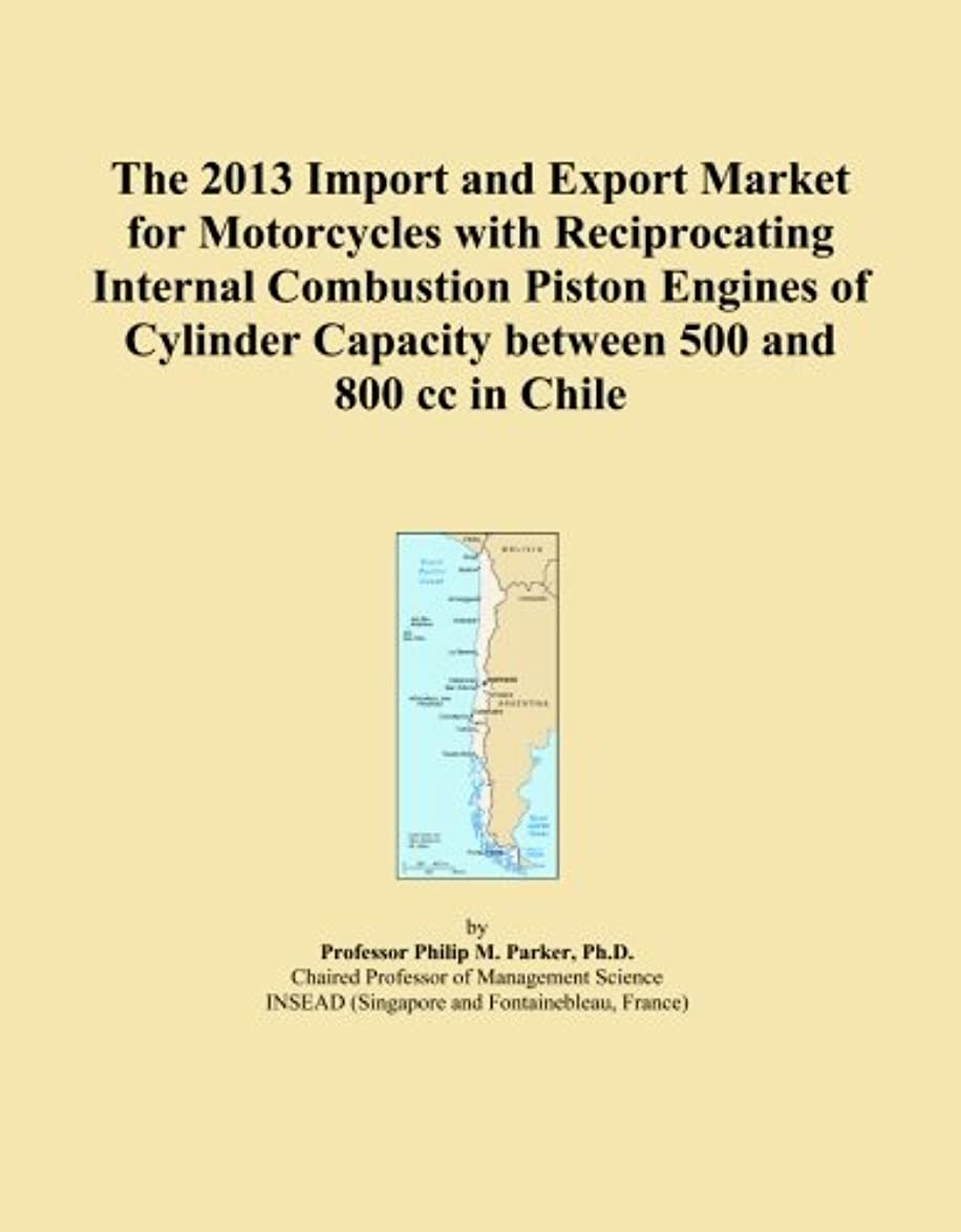 The 2013 Import and Export Market for Motorcycles with Reciprocating Internal Combustion Piston Engines of Cylinder Capacity between 500 and 800 cc in Chile