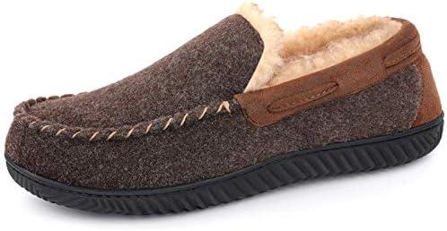 RockDove Men s Hearthfire Memory Foam Moc Slipper Size 13 US Men Mocha product image