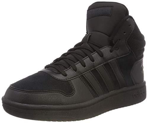 adidas Hoops 2.0 Mid, Scarpe da Basket Uomo, Nero Cblack, 42 EU