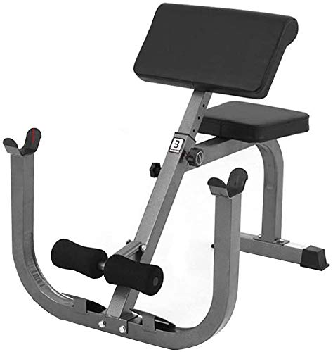 Preacher Arm Curl Weight Bench Isolated Barbell Dumbbell Biceps Station Roman Chair Home Indoor