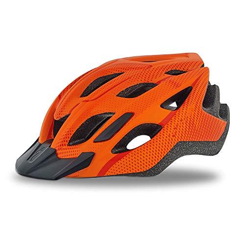 HUACAGN Leichter Fahrradhelm Für Männer Und Frauen - Der Fahrradhelm Für Erwachsene (54-60 cm) Sitzt Eng Am Kopf (Farbe : Rosa)