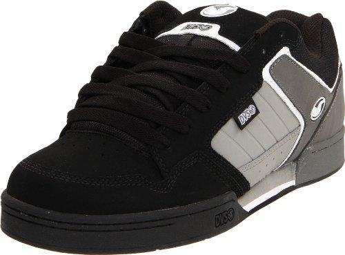DVS Shoes Mens D/S/TRANSOM HO2, Herren Sneaker, Schwarz (Black/Grey Nubuck BL-G), EU 42.5 (US 9)