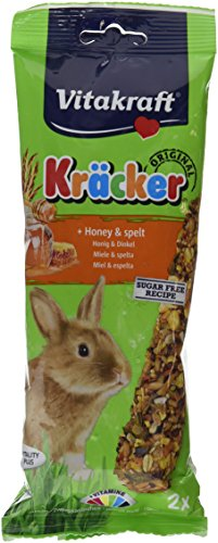 Vitakraft Rabbit Kracker Treat Sticks (Flavour: Honey)