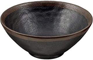 Large Kotobuki Shigaraki Tenmoku Hakeme Donabe Japanese Hot Pot Black