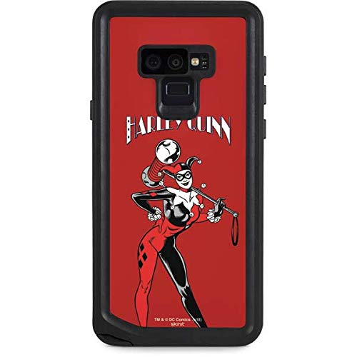 Skinit Waterproof Phone Case Compatible with Galaxy Note 9 - Officially Licensed Warner Bros Harley Quinn Portrait Design