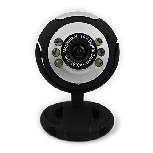 DGERGH Usb-Video-Computer-Kamera Sechs-Licht-Nachtsicht-Free-Drive-Webcam, Geeignet Für Spiele, Live-Übertragung, Netzwerk-Video