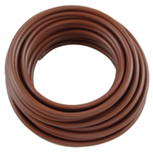 NTE Electronics WA06-01-10 Hook Up Wire, Automotive, Type 6 Gauge, Stranded, 10' Length, Brown