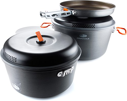 GSI Outdoors - Pinnacle Base Camper, Camping Cook Set, Small, Superior Backcountry Cookware Since 1985