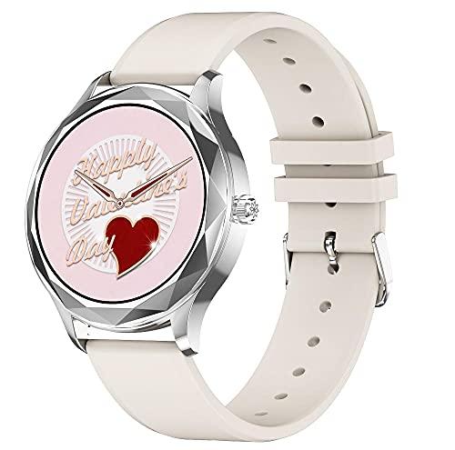 Yumanluo Smart Watch Fitness Uhr für Damen Herren,Frauen physiologische Uhren, Gesundheitsüberwachung Sport Armband-B,Smartwatch Wasserdicht Fitness Armband