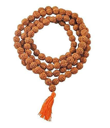 Petrichor Nepal Rudraksha Mala (108 Rudraksha Beads) With Certificate - Unisex Mala Or Japa Mala (10-12 MM | Length : 20 Inches)