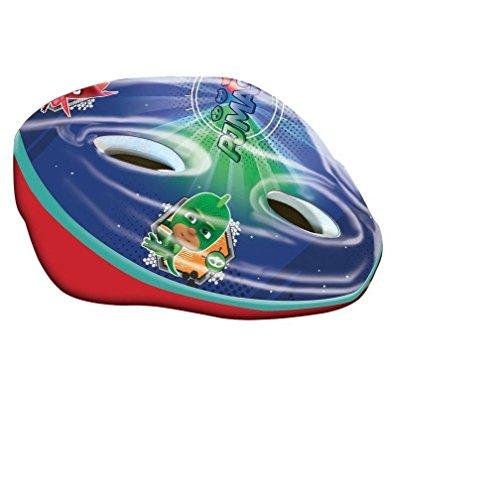 EURASIA Jungen PJ Masks Fahrradhelm, Mehrfarbig, Regolabile circonferenza da 52 a 56 cm