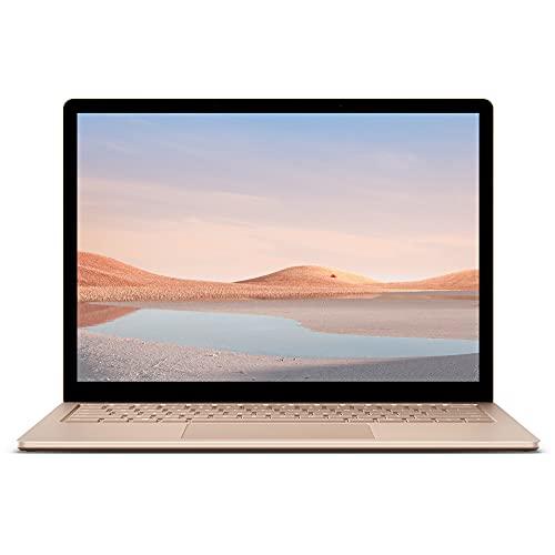 Microsoft Surface Laptop 4, 13,5 Zoll Laptop (Intel Core i5, 8GB RAM, 512GB SSD, Win 10 Home) Sandstein