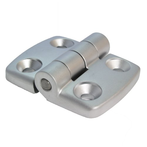 Bisagra combinada de aluminio fundido 30/30 no extensible, 48 x 59 mm