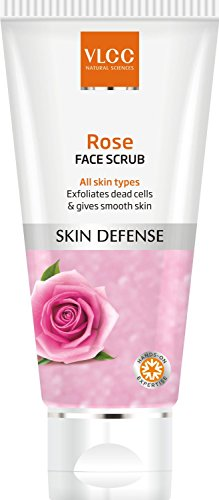 VLCC Rose Face Scrub - 80g(Ship from India)