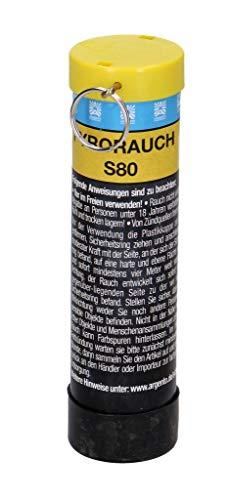 PYROWEB.DE Pyrorauch S80 mit Schlagzündung - gelb