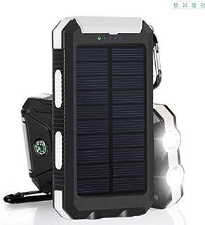 Kongqiabona Encendedor de Cigarrillos Solar port/átil a Prueba de Agua para Acampar arrancador de Fuego cigarros solares Encendedor Herramientas de Supervivencia al Aire Libre