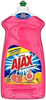 Ajax Ultra Triple Action Liquid Dish Soap, Grapefruit - 52 fluid ounce (2)