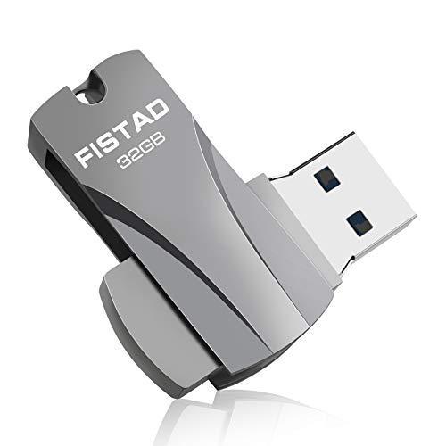 Chiavetta USB 32 GB, USB 3.0 MiNi Pen Drive 32GB Penna USB 32 giga Flash Drive 32 GB per PC Portatile, ECC