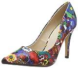 Buffalo Ferelle, Zapatos de Tacón para Mujer, Multicolor (Graffiti 001), 37 EU