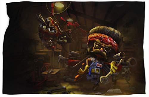 Heimerdinger Piltovercustoms League Legends - Manta doble (101,6 x 127 cm)
