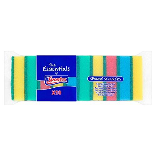 20 Sheets!! 4x Spontex Sponge Cloth Classic 5-er Pack Topp Rice MEGA SAVING PACK