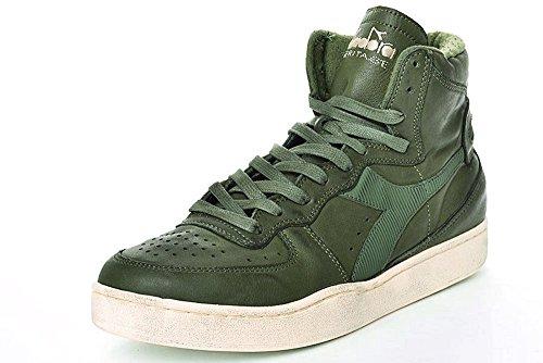 Diadora Heritage - Sneakers MI Basket Used für Mann und Frau (EU 37)