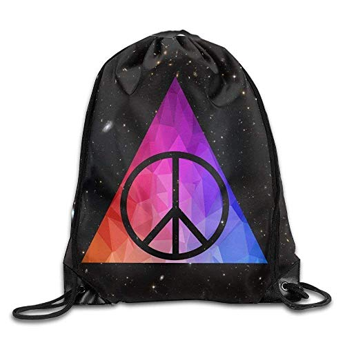 ZHIZIQIU Graffiti Art Rainbow Skateboarder Sports Bag Yoga Backpack