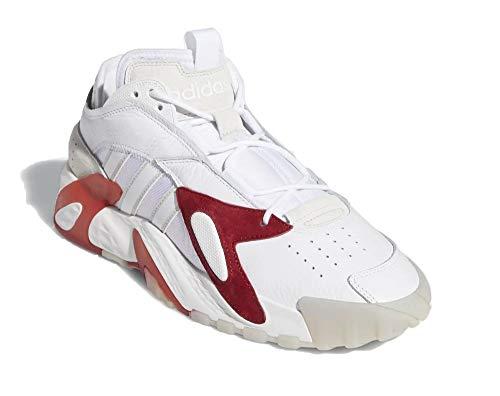 adidas Hombre Streetball Zapatillas Blanco, 49 1/3