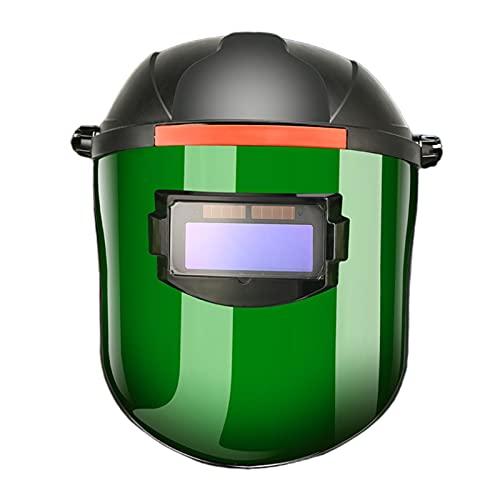F Fityle Rectificado de Casco de Soldadura con Oscurecimiento Automático - lentes pequeños