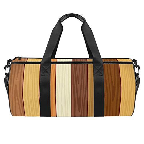 gdfgd 45,7 cm Seesack für Reisen, Fitnessstudio, Sport, leichte Reisetasche, Laminatboden
