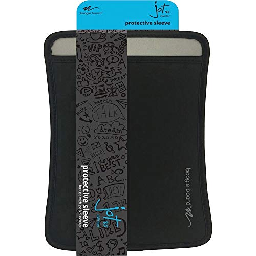 Boogie Board Protective Sleeve | Compatible with Jot 8.5 Writing Tablet Only | Protect Your Tablet from Drops and Scratches | Black Original Sleeve