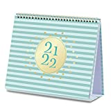 2021-2022 Desk Calendar - Standing Flip Calendar from Jul 2021 - Dec 2022, 10.5' x 10.25', Desk/Wall Calendar with to-do List & 2 Pockets, Unruled Blocks