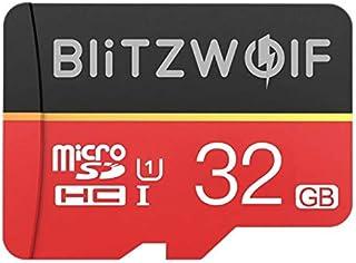 BlitzWolf Class 10 V30 1080p FHD 32GB 64GB 128GB 256GB Micro SD TF Memory Card BW-TF1 (32GB)