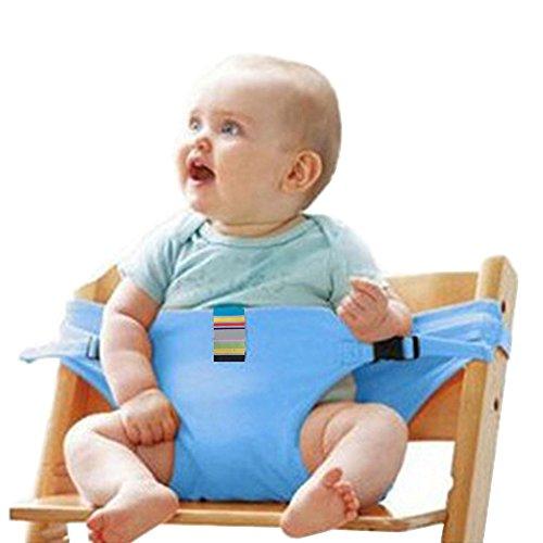 Imagen para Chaise haute lavable et portable pour bébé avec harnais de sécurité ; chaise d'alimentation pour enfant (8couleurs) #–81086–