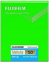 FUJIFILM リバーサルフィルム フジクローム Velvia 50 シート 20枚 CUT VELVIA50 NP 4X5 20