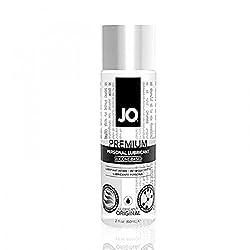 powerful JO Premium Silicone Lubricant-Original (2 oz)