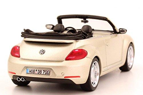 Volkswagen 5C3099300P7W Modèle Réduit de Voiture, Moon Rock Argent Métallisé