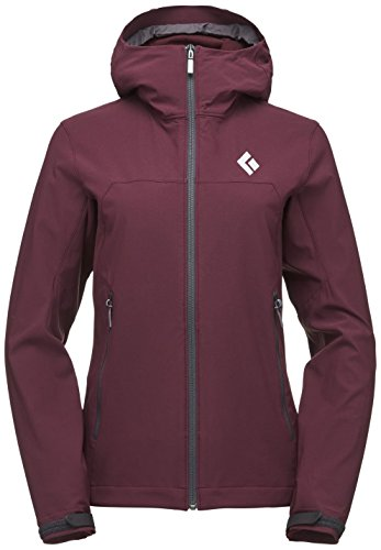 Black Diamond Dawn Patrol Shell Jacket Vrouwen bordeaux Size S 2019 winterjas